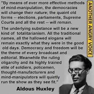 Aldous Huxley quote sm