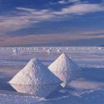 Bolivia Salt Flats salt