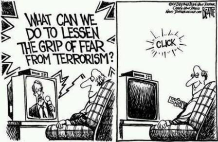 How to Lessen Fear of Terrorism