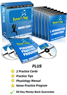 Runners Yoga Program Package Content