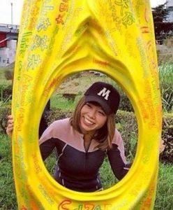 Japanese Wpman's Vagina Kayak